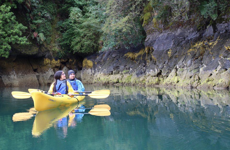 Experiencia Austral (kayak – camping – termas)