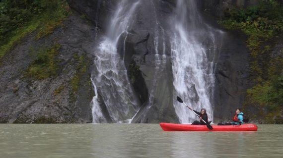 sonido de cascadas