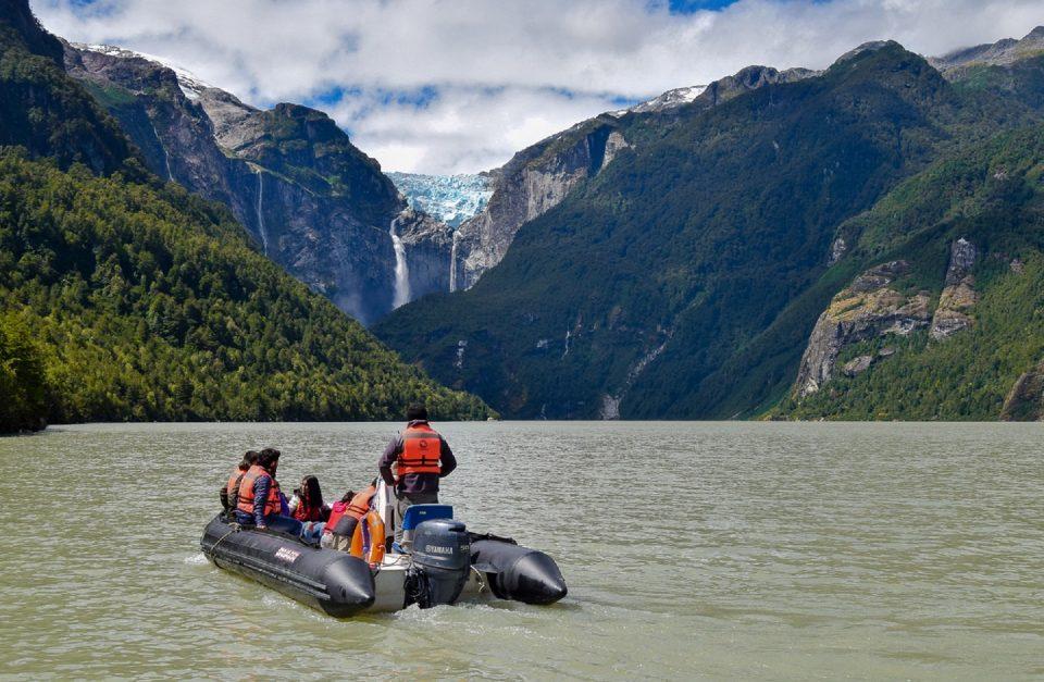 Paseo en bote Parque Nacional Queulat