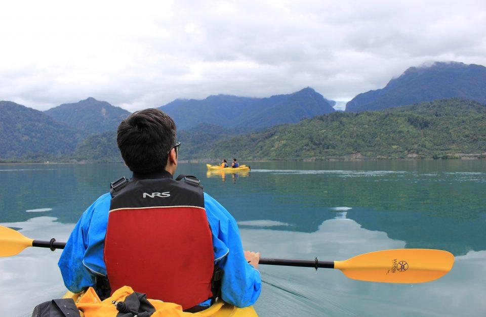 Kayak Fiordo Puyuhuapi y Termas